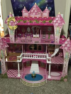 Huge Barbie House with furniture