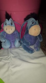 Bag b10..eyeore toys..1 stuffed animal 1 is a back pack