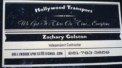 Hollywood Transport  More... Let Us Handle What U Cant