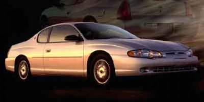2002 Chevrolet Monte Carlo LS (Competition Yellow)