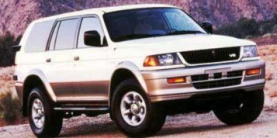 1999 Mitsubishi Montero Sport LS (White)