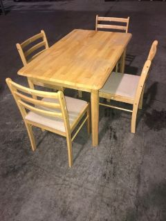 Break Room/Kitchen Table w/ Four Chairs RTR# 8012567-01