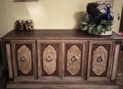 Thomasville buffet will trade for unpainted buffet/hutch