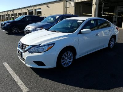 2017 Nissan Altima 2.5 S Sedan (Pearl White)