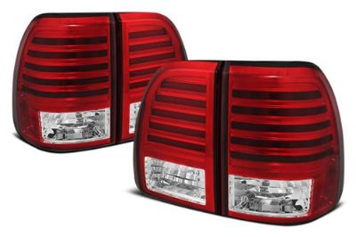 Purchase Spyder LLX47003RC Lexus LX Red Euro Tail Lights Rear Stop Lamps w LEDs motorcycle in Rowland Heights, California, US, for US $354.00