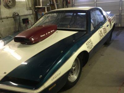 Pontiac Firebird Bracket Racing car