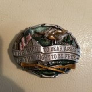 2nd Ammendment belt buckle