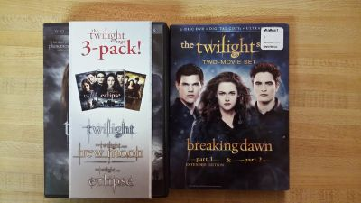 The Twilight Saga all 5