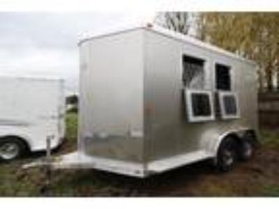 "2018 Exiss 720 7'6"" Tall Easy Care Flooring 2 horses"