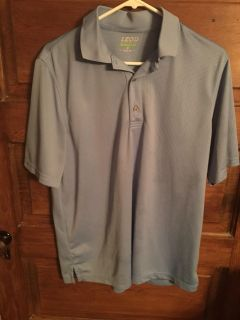 IZOD: Men s Light Blue Polo Shirt Size M $8 Must Pick Up In McDonough