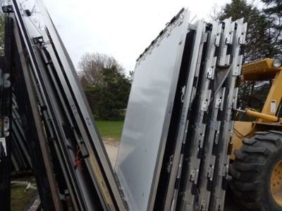"Find Trailer Door, 93""X96"", Rear Trailer Door Ramp, New, White, W/Springs/Hinge, #55 motorcycle in Adrian, Michigan, United States, for US $400.00"