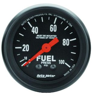 "Sell Auto Meter 2612 Z Series 2 1/16"" Mechanical Fuel Pressure Gauge 0-100 PSI motorcycle in Greenville, Wisconsin, US, for US $70.98"