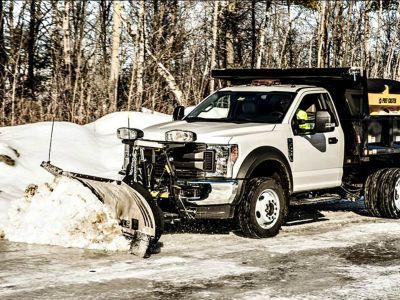 "2018 Fisher Engineering XLS 8' 6"" to 11' Snow Plow Blades Erie, PA"