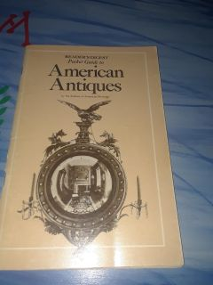 READER'S DIGEST Pocket Guide to American Antiques