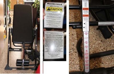 Mastercare Back A Traction Inversion Table from Relax the Back