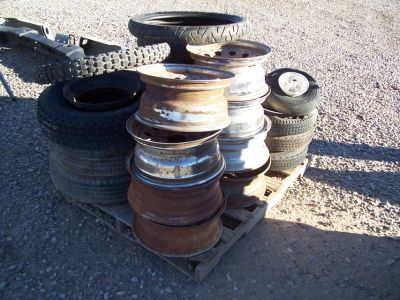 Misc. Used Tires and Rims