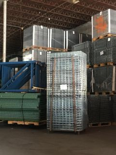 New and Used Warehouse Shelving Racking Systems