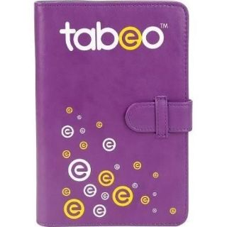 Purple tabeo folio case for 7 in tablets