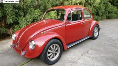 1968 Bug, Always Garaged, 74Kmi, 50yrs Same Family