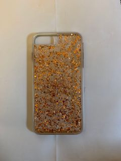 iPhone 8plus rose gold casemate phone case