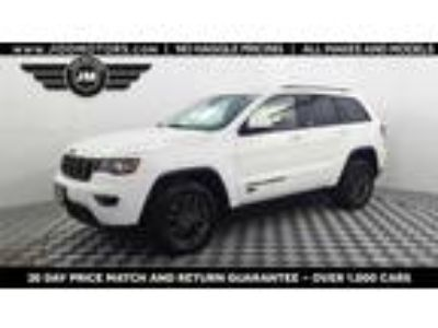Used 2016 Jeep Grand Cherokee Bright White Clearcoat, 35.1K miles