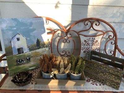 Home Decor Set (Selling As A Set Only)