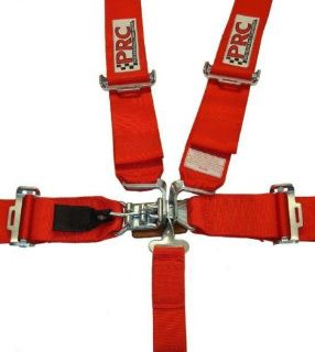 Purchase 5 Point Harness Seat Belt SFI Certified Latch and Link Style Red - Latest Date motorcycle in Des Moines, Iowa, United States, for US $59.99