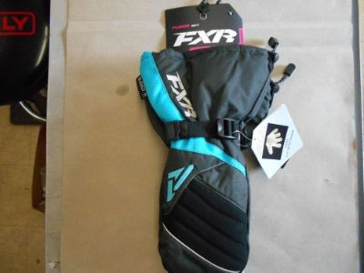 Purchase FXR Racing Women's Fusion Mitt Char/Aqua MEDIUM Snowmobile Gloves 15615.20410 motorcycle in North Adams, Massachusetts, United States, for US $67.49