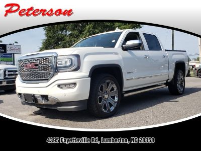 2016 GMC Sierra 1500 4WD CREW CAB 143.5 (White Frost Tricoat)