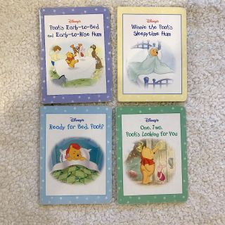 Winnie the Pooh rhyming books. Set of 4. Good condition.