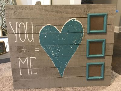 Hobby lobby pallet wood wall hanging