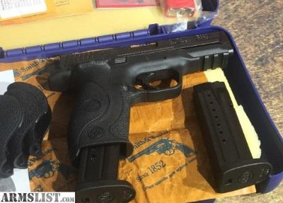 """For Sale: Smith & Wesson M&P9 Full-Size 9mm 4.25"""" 17+1"""
