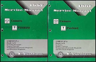 Find 1997 Camaro Firebird Shop Manual SET Z28 RS Trans Am Chevy Pontiac Service OEM motorcycle in Riverside, California, United States, for US $54.00