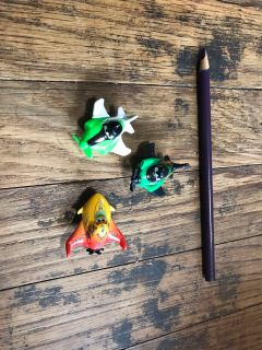Tiny CARS brand airplanes. Lot of 3.... $1.50