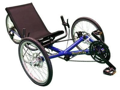 $1,000 TerraTrike, Recumbent Tadpole Tricycle