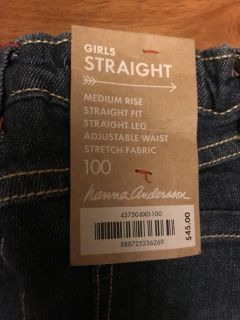 Hannah Anderson NWT jeans size 3