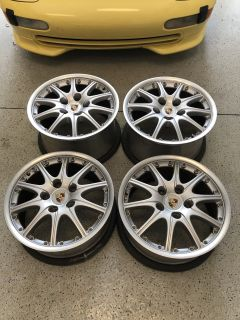 "Porsche BBS Sport Design 18"" wheels for 996, 993, Boxster"