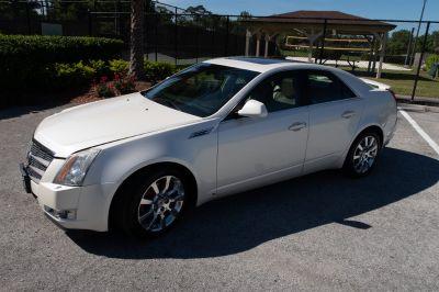 2009 Cadillac CTS 3.6L DI (White)