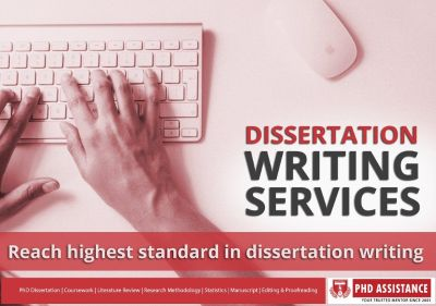 PhDdissertation writing help