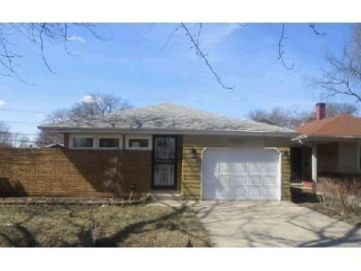 3 Bed 1 Bath Foreclosure Property in Dolton, IL 60419 - Sunset Dr