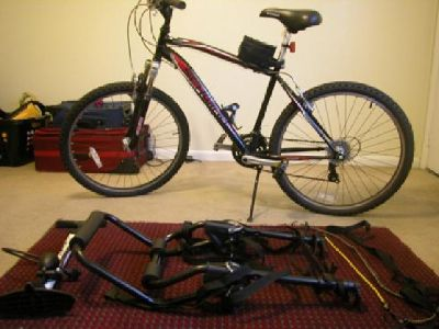 "$100 Schwinn Sidewinder (26"") w/Accessories"