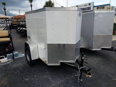 2019 Cargo Express 4X6 Backpack Cargo Trailers Fort Pierce, FL