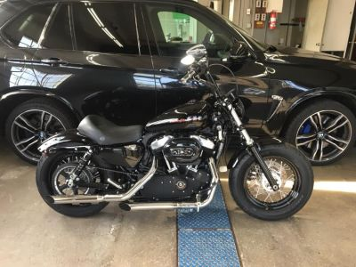 2013 Harley-Davidson Sportster XL1200X (Black)