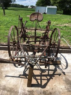 Antique Horse Drawn Implements