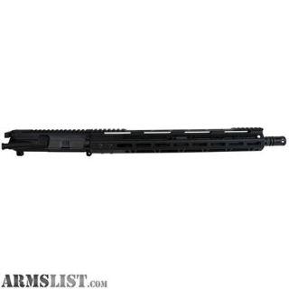 "For Sale: BEAR CREEK AR-15 COMPLETE 16"" 223 WYLDE UPPER RECEIVER M-LOK"
