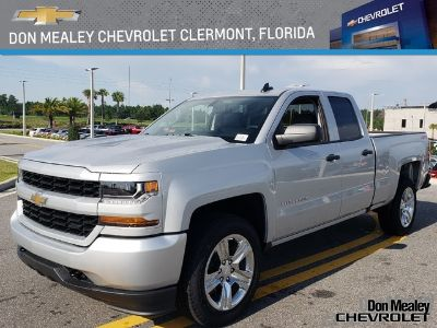 2018 Chevrolet Silverado 1500 4WD DOUBLE CAB 143.5 (Silver Ice Metallic)