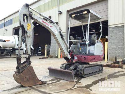 2014 Takeuchi TB216 Mini Excavator