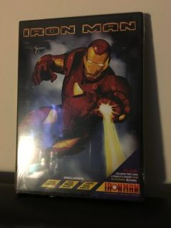 NIP Iron Man Armored Adventures dvd