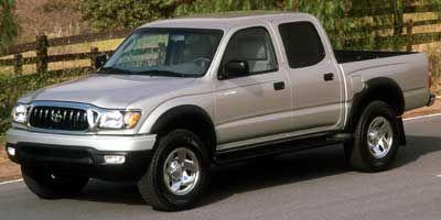 2002 Toyota Tacoma PreRunner (Super White)