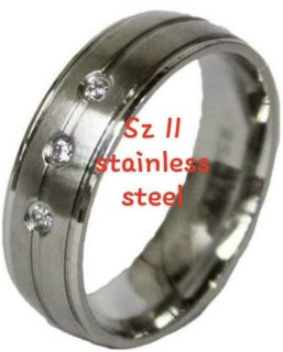 Stainless steel - sz 11